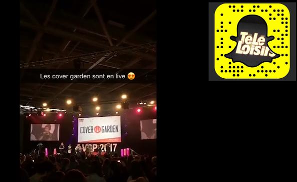 Snapchat Télé-Loisirs Vidéo city