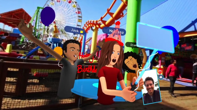 Réalitée virtuelle FACEBOOPK