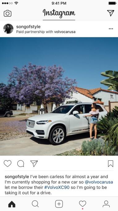 branded content instagram