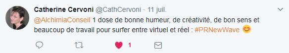 tweet Catherine Cervoni