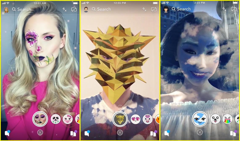 Snapchat filtre perso