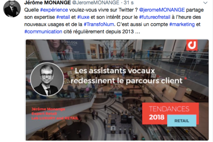L'influenceur corporate de juillet @JeromeMonange
